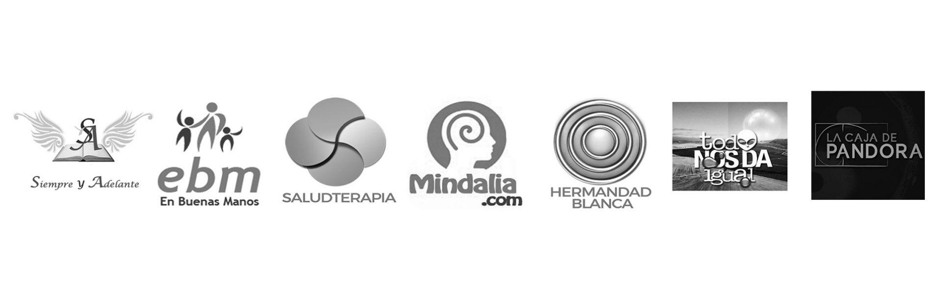 Logos de sitios en los que he aparecido o publicado